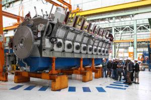 Wärtsilä Trieste motore Grandi Motori