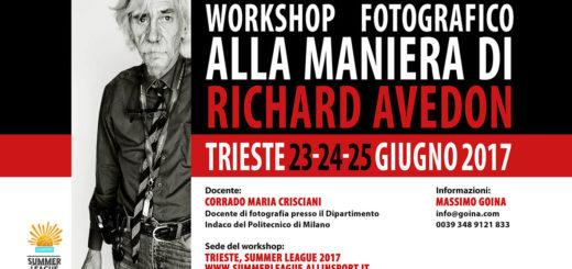 workshop fotografico Richard Avedon Muggia