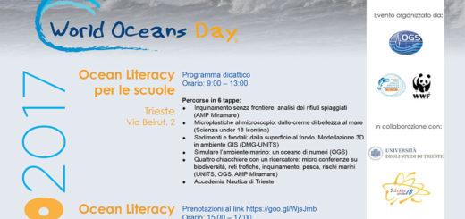 World Oceans Day 2017 - Giornata Mondiale degli Oceani