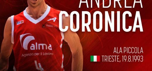 Andrea Coronica capitano Pallacanestro Alma Trieste