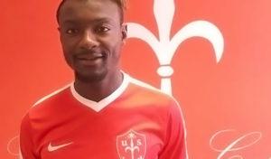 Davis Mensah Triestina Calcio