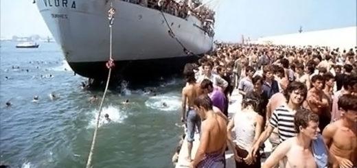 nave Vlora sbarco albanesi esodo