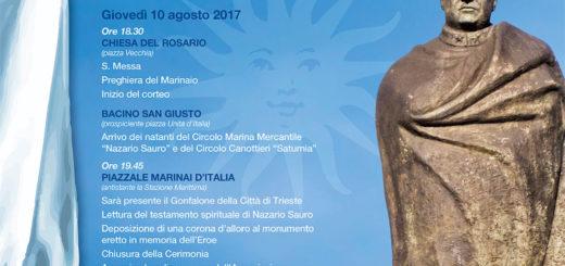 Nazario Sauro manifesto 2017