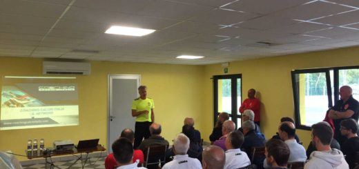 Coerver coaching lesson Triestina calcio