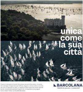 Barcolana 2017 manifesto