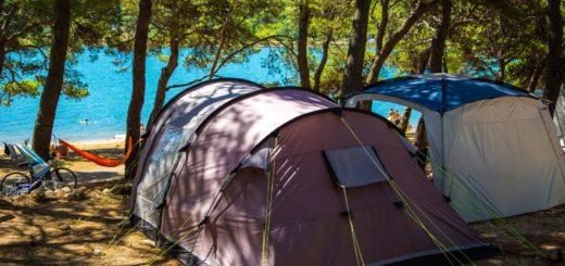 campeggio tende