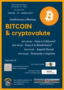 conferenza meetup Bitcoin