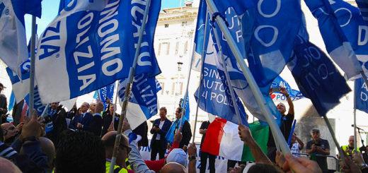 manifestazione Roma Sap