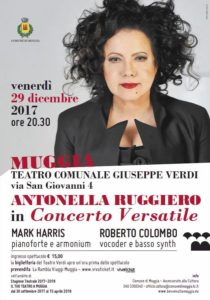 Antonella Ruggiero Teatro Verdi di Muggia concerto