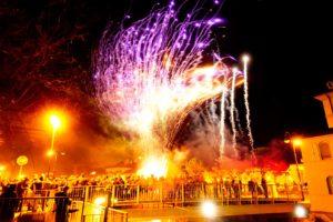 Cervignano Capodanno spettacolo pirotecnico fuochi d'artificio