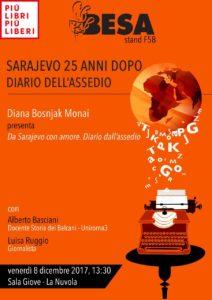 da Sarajevo con amore libro di Diana Bosnjak