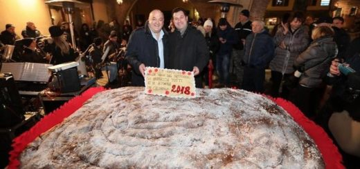 gubana gigante Cividale Guinness record