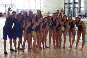 orchette pallanuoto femminile Under 17 Trofeo delle Regioni bronzo FVG 2018