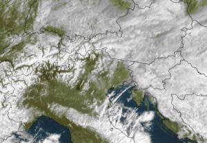 meteo Trieste satellite 27 febbraio 2018