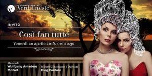 Teatro Verdi di Trieste Così fan tutte