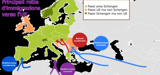 flussi migratori Balcani rotta balcanica
