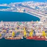 Porto di Trieste dall'alto