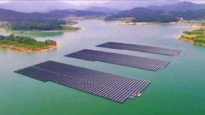 centrale solare galleggiante Albania