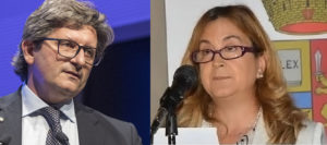 Zeno D'Agostino e Isabella Fusiello