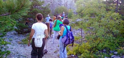 escursione trincee guerra Monte San Michele