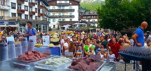 gelato day Cortina d'Ampezzo