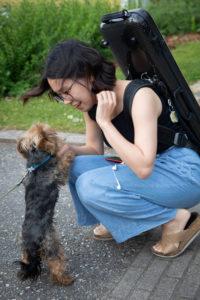 Soo Yung Park e cane