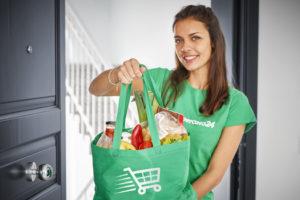 shopper spesa borsa sporta
