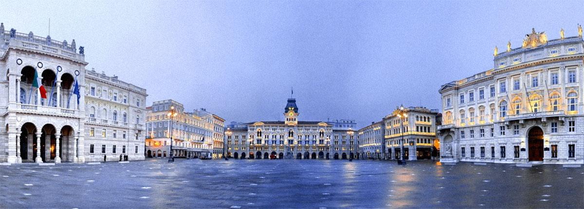 piazza Unità Trieste granda