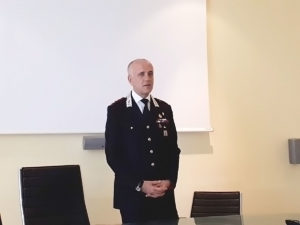 Stefano Cotugno Comandante Carabinieri