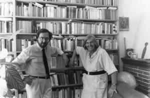 Fabio Pagan e Margherita Hack