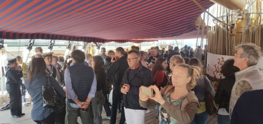 nave veliero Vespucci pubblico 2018