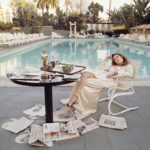 Faye Dunaway il giorno dopo aver ricevuto l'Oscar - Beverly Hills 1977