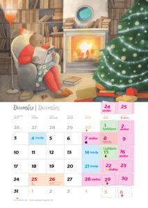 calendario Vesna Benedetič