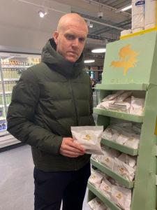 Hallfredsson e il frico in Islanda