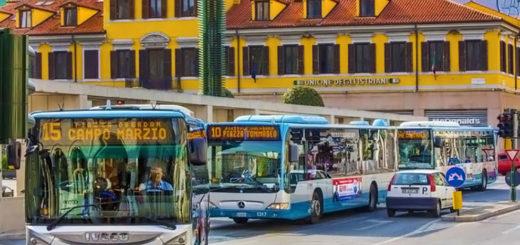 autobus piazza Goldoni Trieste