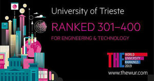 Università di Trieste ranked 2018