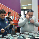 cupping - a destra Tomassi