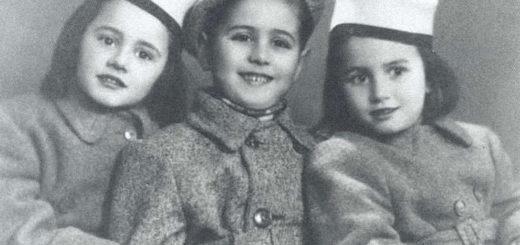 Le sorelle Bucci con il cugino Sergio