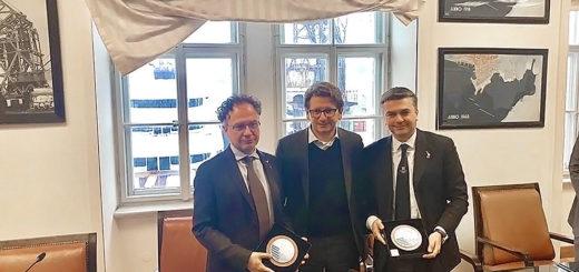 da sinistra: Geraci, D'Agostino e Rixi