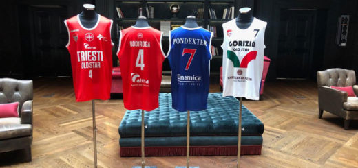 divise pallacanestro Trieste Old Star Bodiroga