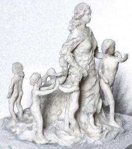 Maria Teresa scultura progetto Ferluga Matic