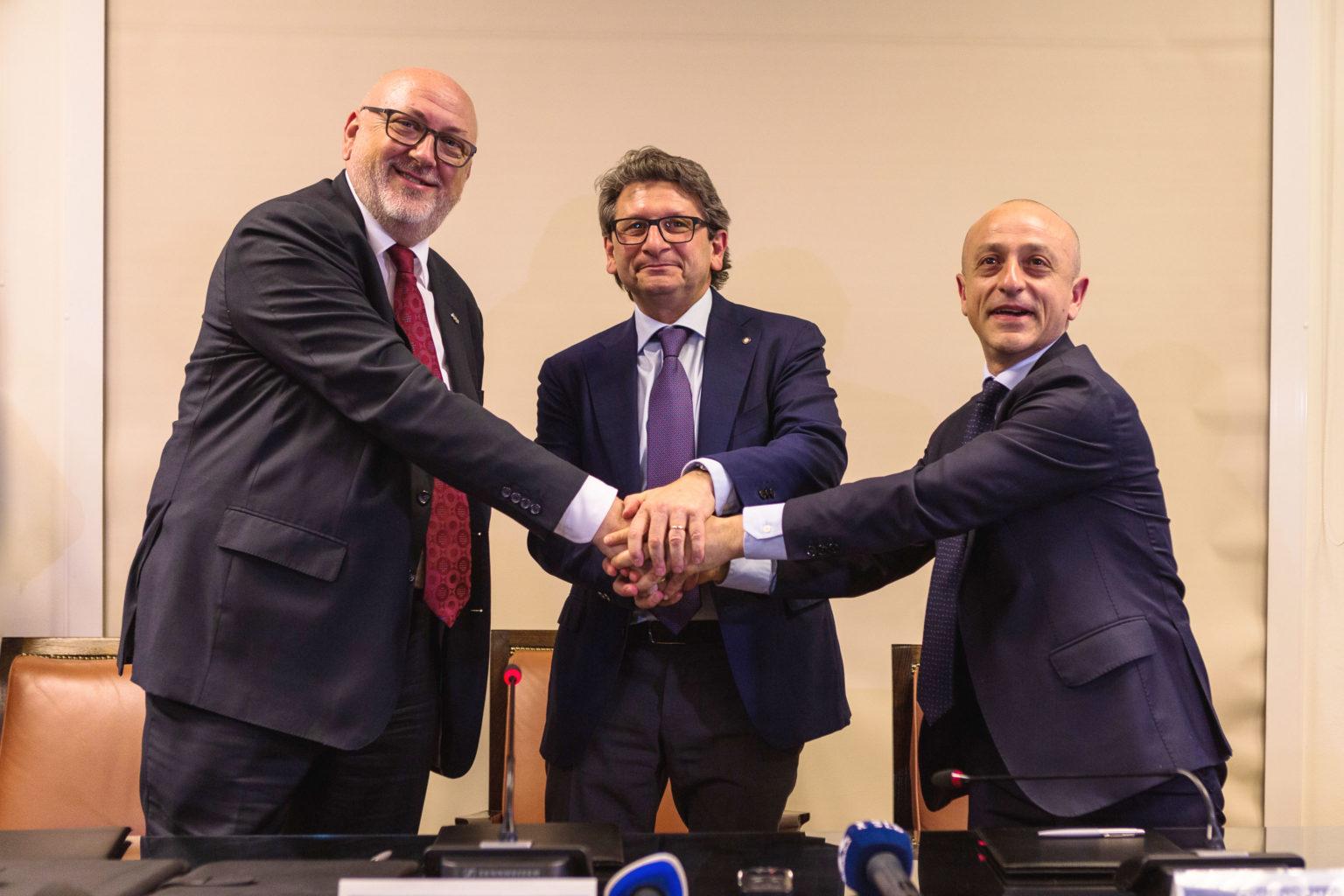 da sinistra: Mattha, D'Agostino, Colaneri