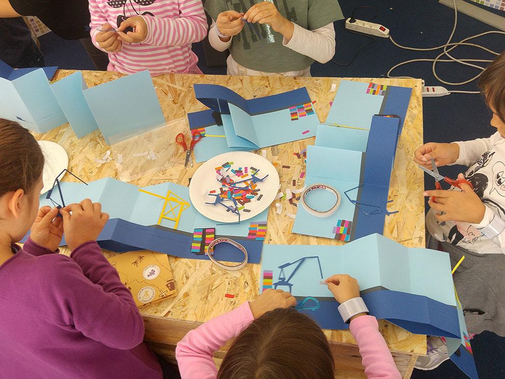 Top Laboratori creativi per bambini sulla storia del Porto Franco WD95