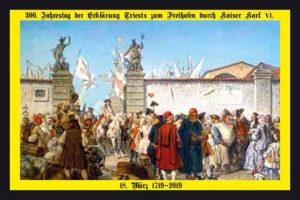 Fac-simile della cartolina commemorativa distribuita ai partecipanti