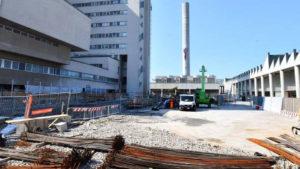 lavori ospedale di Cattinara