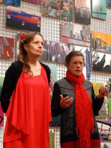 Isabel Carafi e Maria Campitelli