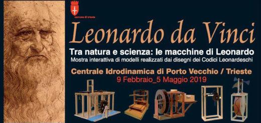 Leonardo da Vinci mostra Trieste