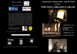 per voci organo e archi
