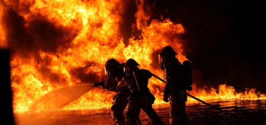 pompieri incendio