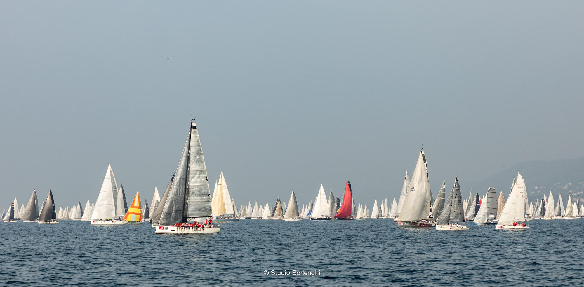 Barcolana barche a vela regata Trieste Barcola